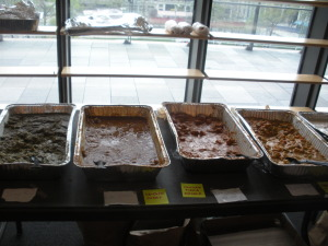 Picture of Indian food at Startup Weekend GOV
