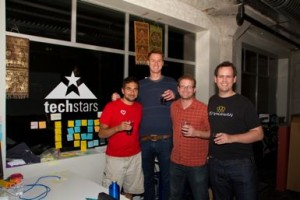 Apptentive Founders Celebrating Techstars