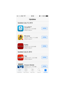 App Store Automatic Update