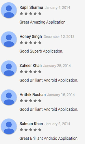 Fake Reviews in the Google Play Store