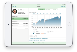 Financial services iOS app