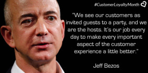 Jeff Bezos on Customer Loyalty