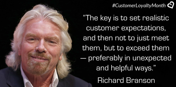 Richard Branson Customer Loyalty Quotes