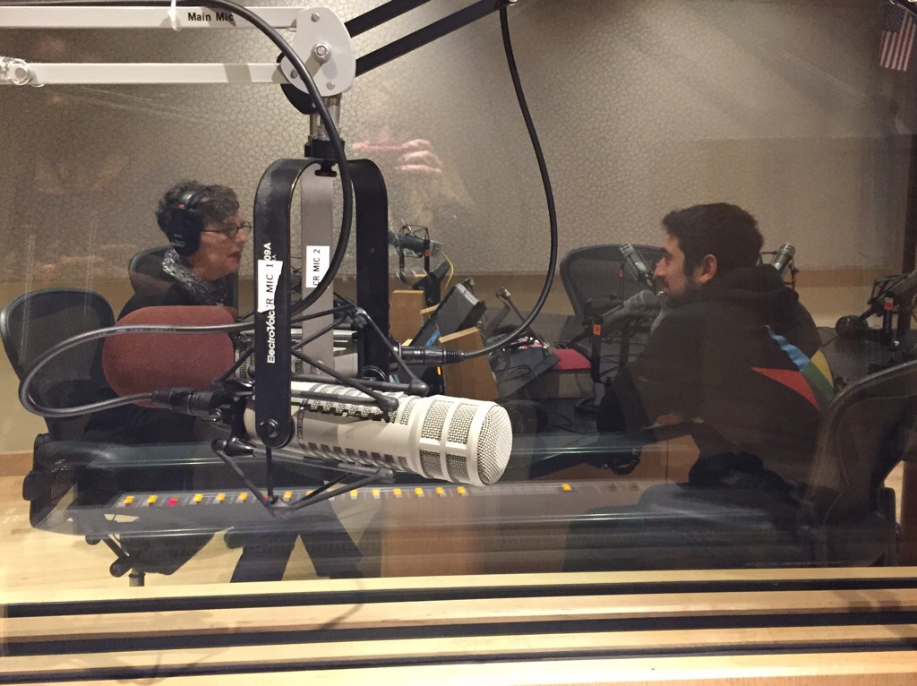 Robi at KUOW Interview