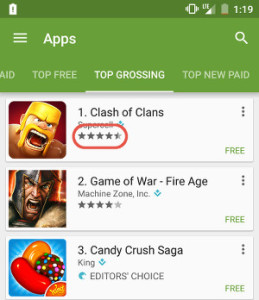 App Store Ratings and Reviews as top app marketing channels of 2015