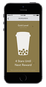 My Starbucks Rewards Loyalty Program app