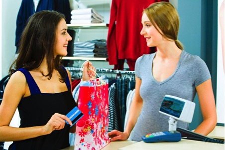 Shopping with mobile beacons