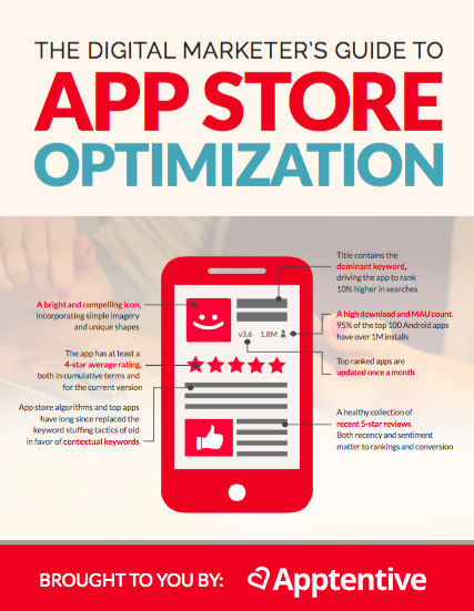 The Digital Marketer's Guide to App Store Optimization ebook cover