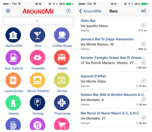 AroundMe makes our list of 2016's best travel apps for great location-based recommendations