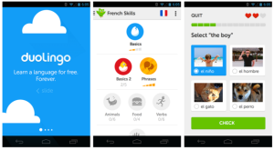 Duolingo makes our list of best travel apps for its fast, free, and fun approach to language learning