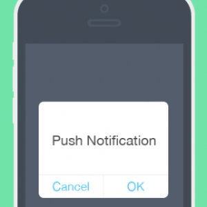 Push notifications on iPhone device
