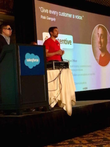 On stage at Dreamforce 2016