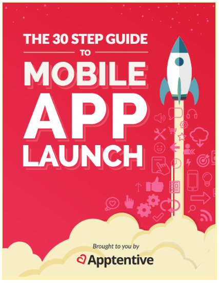 The 30 Step Guide to Mobile App Launch guide cover