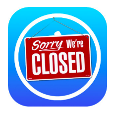 App store closed, iTunes Connect holiday shutdown