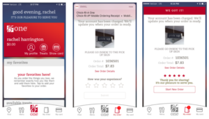 Chick-fil-A's in-app ordering