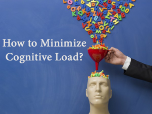 how to minimize cognitive load