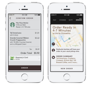 Starbucks Mobile Order and Pay