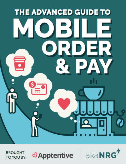 Mobile order and pay guide cover