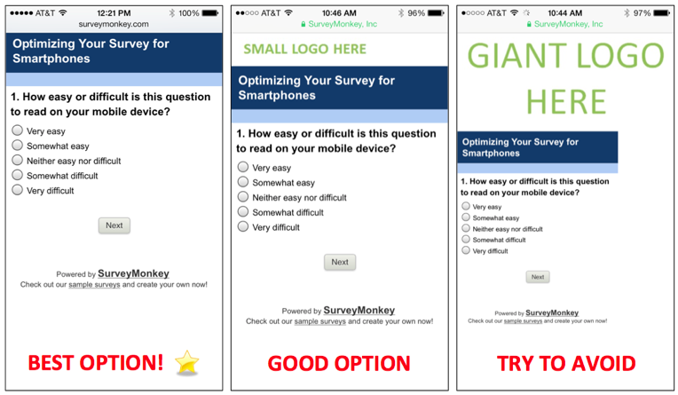 Surveymonkey survey design