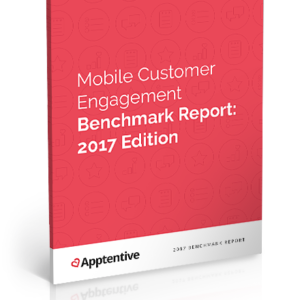 Mobile Customer Engagement Benchmark Report: 2017 Edition cover image