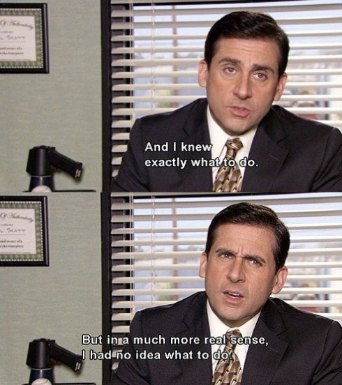 Michael Scott ideas