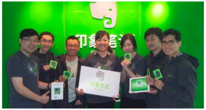 Evernote's Chinese success