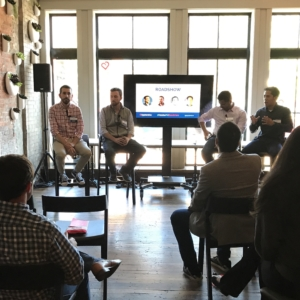 Panelists at Apptentive's Mobile Product Management Roadshow in Boston