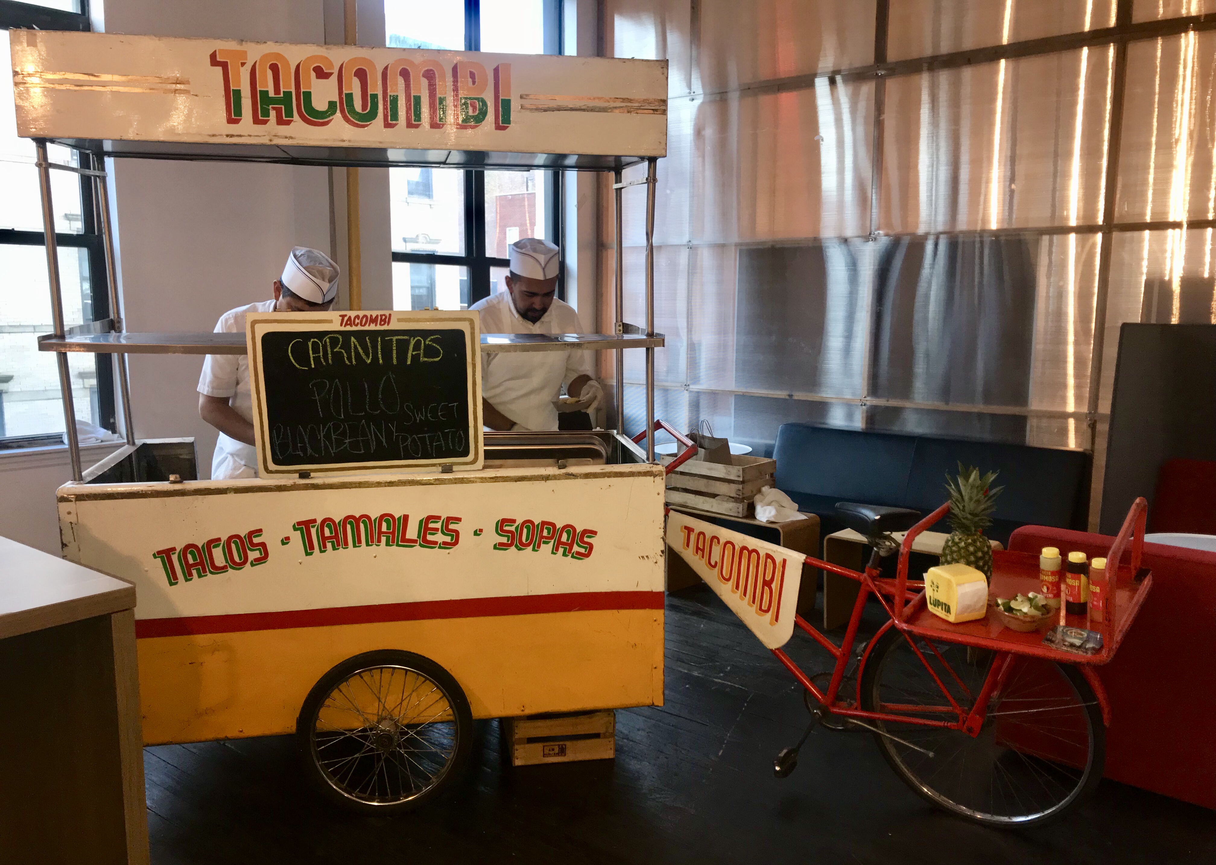 Taco cart at Apptentive's Mobile Product Management Roadshow in NYC