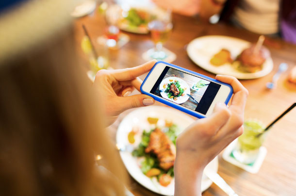 Mobile apps have changed restaurants