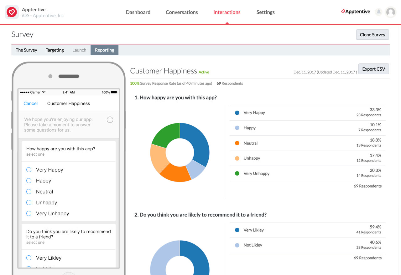 apptentive surveys learn more about your customers