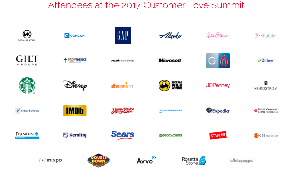 Customer Love Summit attendees 2017
