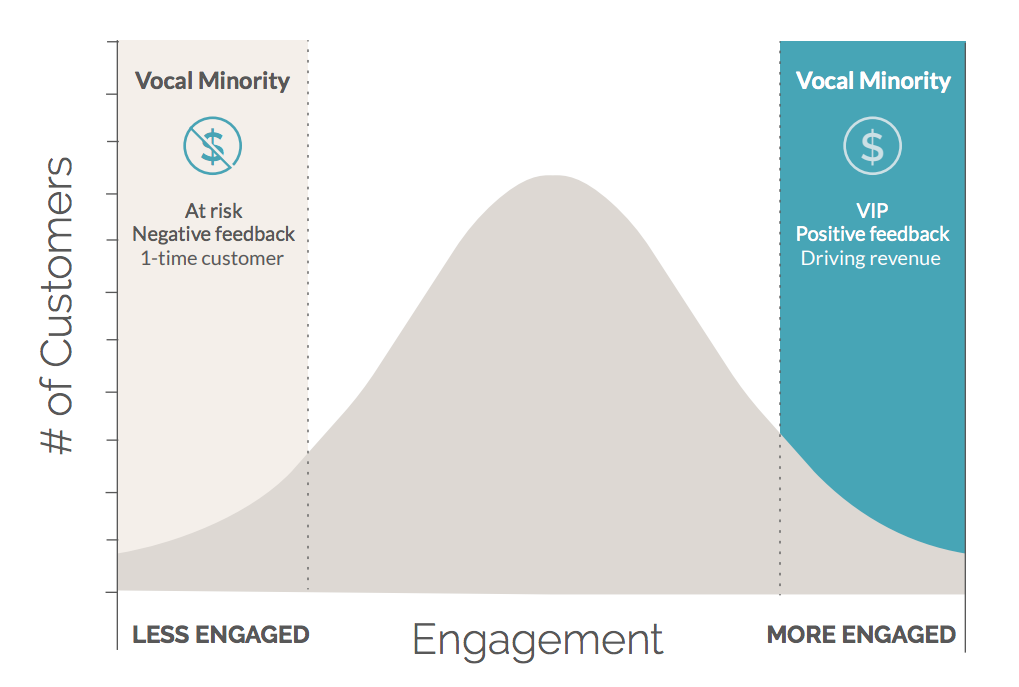 The Vocal Minority of Customer Feedback