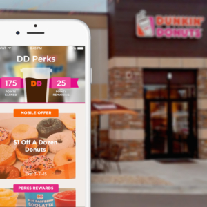 dunkin donuts perks on mobile app