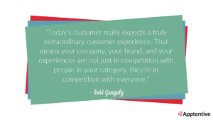 robi ganguly customer experience quote