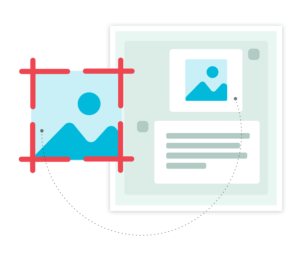 Screenshot an issue, Customers can share experience with a screenshot without having to rely on text to share the story