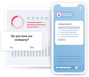 Understand customer sentiment before prompting, minimize disruptions, respond to negative feedback, no app updates required