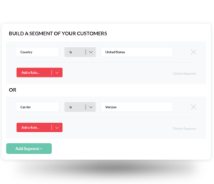 Event Targeting allows you to prompt customers to take a survey at the right moment