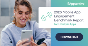 Lifestyle mobile app customer engagement