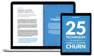 Mobile Customer Churn Guide Tablet and Laptop